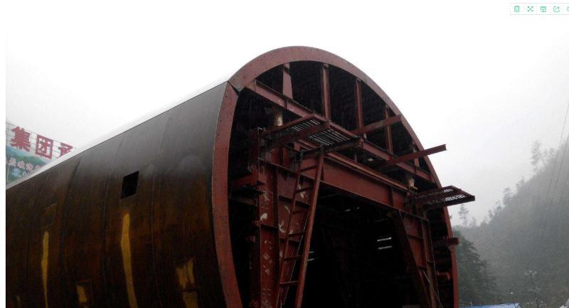隧道二襯台車